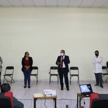 Reuniones con sector salud y líderes transportistas sobre COVID-19