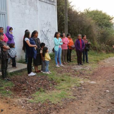 Gira de trabajo en la cabecera municipal y San Matías