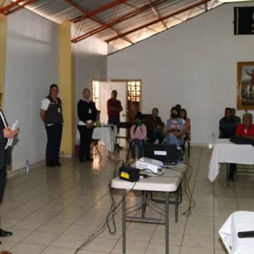 Reunión con representantes de Centros turísticos de Los Azufres