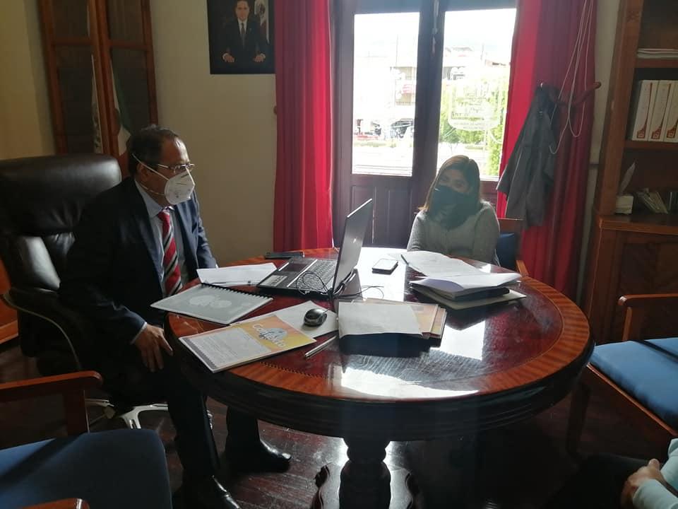 Mesa de trabajo con autoridades estatales sobre la nueva normalidad