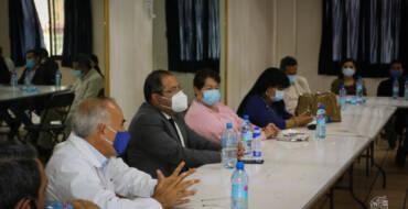 Reunión del Comité municipal de Salud