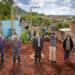 Supervisión de bacheo y pavimentación de calle Jazmín