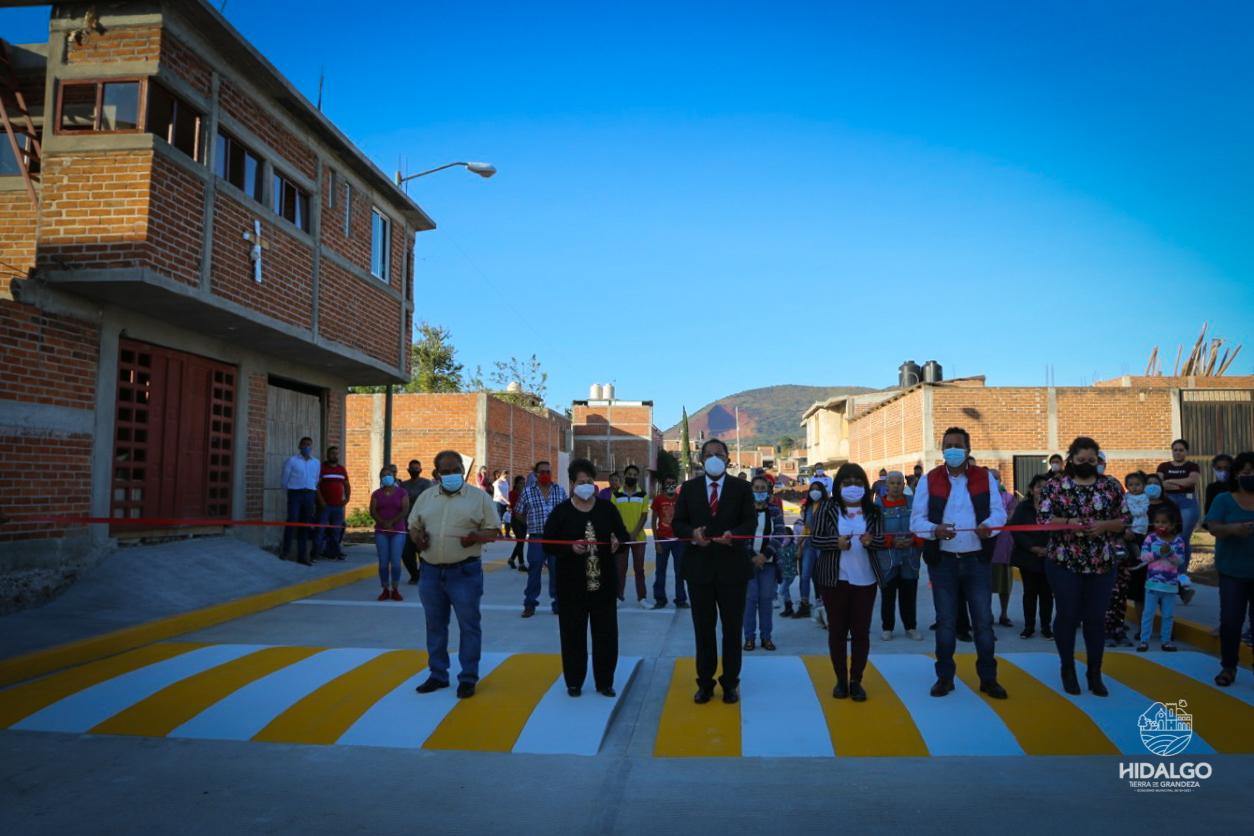 Pavimentación de la Calle Presa del Infiernillo de la Colonia Presa de Chávez