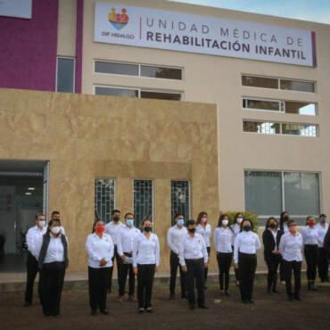 Inauguración de la Unidad Médica de Rehabilitación Infantil
