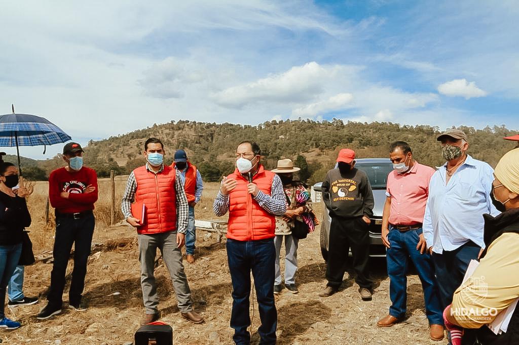 Reunión con colonos del Rancho San Jerónimo