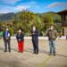 Gira de trabajo en El Chaparro: Arranque de obra y entrega de apoyos