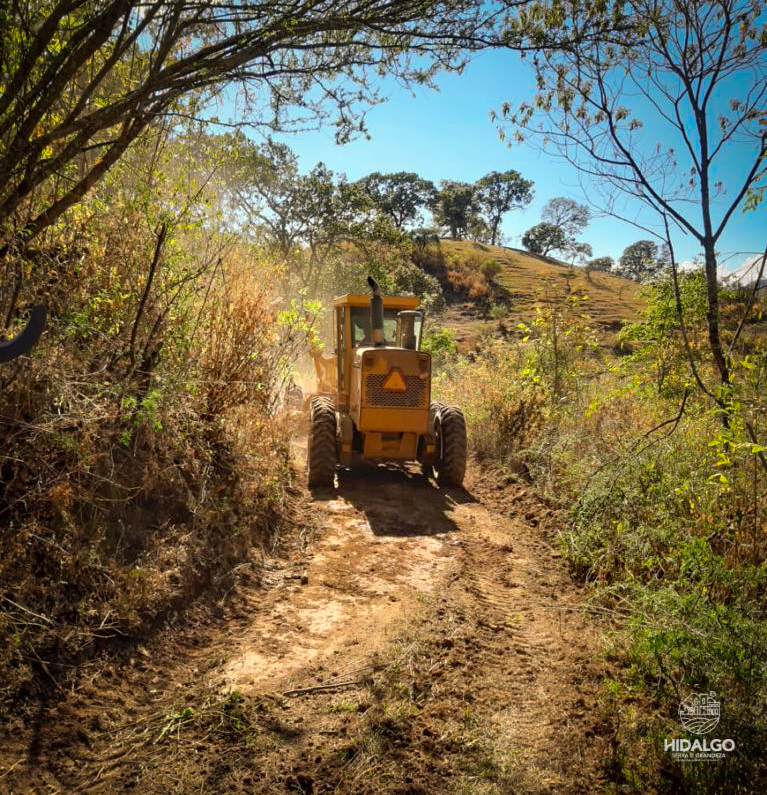 Rehabilitación de 62 kilómetros de caminos rurales