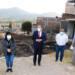 Arranque de pavimentación hidráulica de la calle Seshiangari