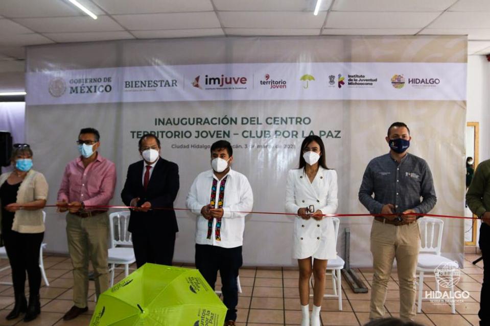 Inauguración de Centro Territorio Joven – Club por la Paz