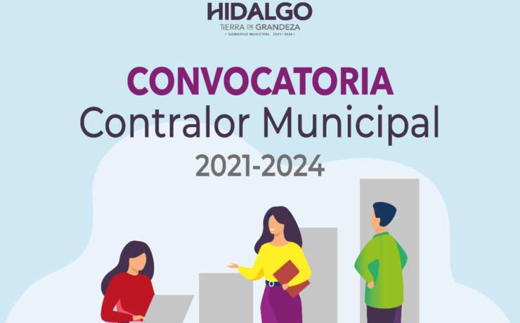 Convocatoria para Contralor municipal 2021-2024